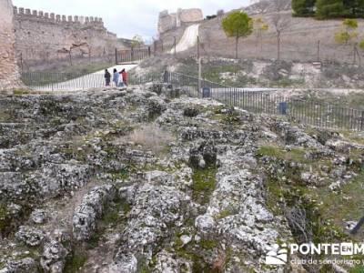Necrópolis - Fuentidueña - excursiones y senderismo; rutas culturales madrid